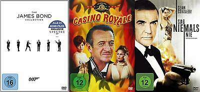26 Movies James Bond Complete Collection Sean Connery Roger Moore DVD