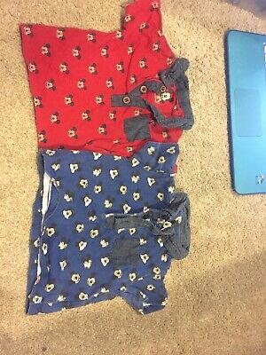 Boys' Clothing (newborn-5t) Mamas And Papas 0-3 Months Boys Sleepsuits Dungarees Joblot Bundle