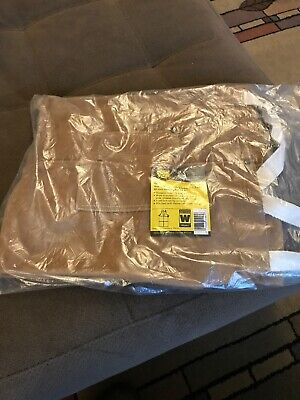Revco Black Stallion 42A Leather Side Split Cowhide Welding Bib Apron 42""