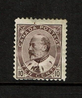 Canada SC# 93, Mint Hinged, Multi Hinge Remnants, Light Page Remnant - S2646