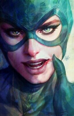 Catwoman #13 Cover B Artgerm Variant Cardstock Cover Preorder Hot! Dc Comic 2019