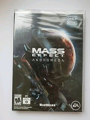 Mass Effect: Andromeda (PC, 2017) DOWNLOAD ACCESS AND BOX ONLY, NO CD/DVD