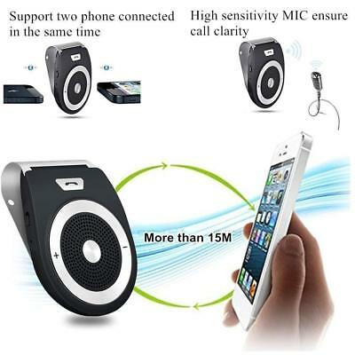Bluetooth handsfree car kit Wireless car Speakerphone Compatible with iPhone