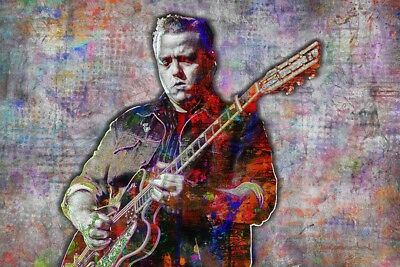 JASON ISBELL 20x30inch Poster Jason Isbell Artwork Country Pop  Free Shipping