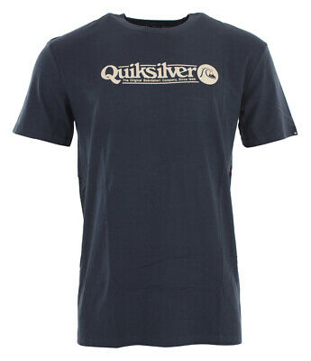 Shirt Tshirt Oberteil QUIKSILVER ART TICKLE T-Shirt 2019 blue nights Tshirt Tops