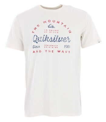Shirt Tshirt Oberteil QUIKSILVER DROP IN DROP OUT T-Shirt 2019 gardenia Tshirt