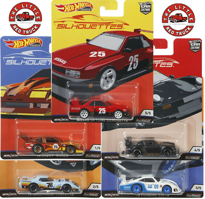 HOT WHEELS 2019 CAR CULTURE J CASE SILHOUETTES (Single Listings - New From Case)