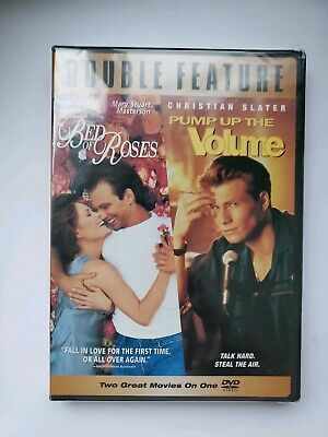 Bed of Roses & Pump Up the Volume DVD NEW Sealed Christian Slater
