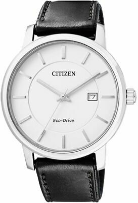 Citizen Eco-Drive Sapphire Made In Japan Men's Leather Watch BM6750-08A