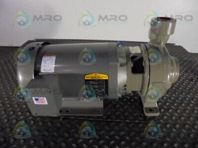 Baldor Jmm3616T 7.5 Hp Motor With Blower * New No Box *