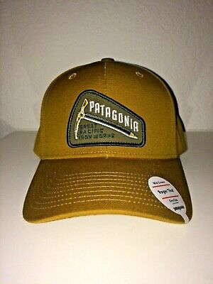 fa8621a1129f0 ULTRA RARE NEW w tags! Patagonia Great Pacific Iron Works Roger That hat  brown