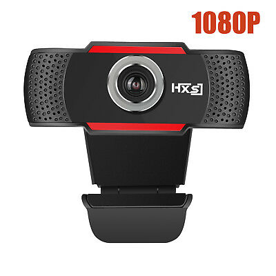 HD 1080P 12 MP Auto USB 2.0 Webcam Camera with MIC for Skype PC Android TV