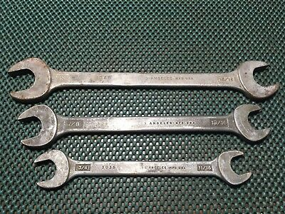 Vintage Proto Los Angeles Double Open Wrenches