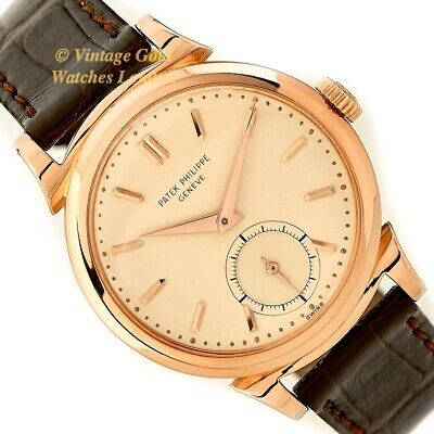 Patek Philippe Model Ref. 1491, 18Ct Pink Gold, 1948/1949 - Immaculate!