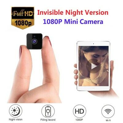 Spy Mini WIFI IP Camera Audio 1080P Cam Security Action Camera Night Vision LOT