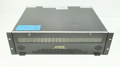 Evertz 7700FR-C 3RU Multiframe Chassis Only - No power supplies + 5 Blanks