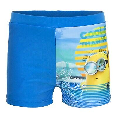 Boys Despicable Me Minions character, swim trunks, boxer shorts  2-8 yrs