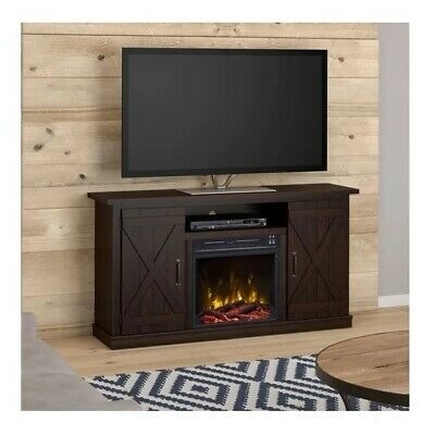Fire Tv Stand Fireplace Entertainment Center Electric Wood