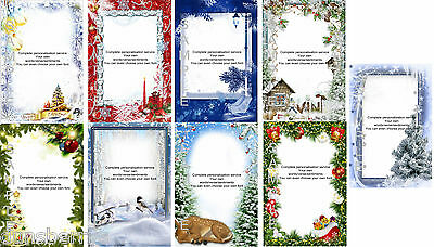 Personalised Christmas Remembrance/Grave/Memorial/Bereavement Card (All Family)
