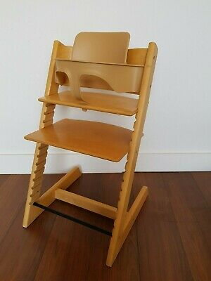 Stokke Tripp Trapp Brown With Babyset *** Suitable for Newborn ***