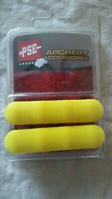 NEW PSE ARCHERY Yellow Colored Rubber Panel Grips For Pse