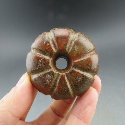 Chinese collections,noble collection,manual sculpture,jade,pumpkin,pendant Z6258