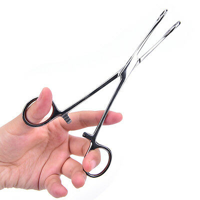 Body Piercing Tools Forceps Clamps Pliers Tongue Belly Septum Nose Lip Ear GN
