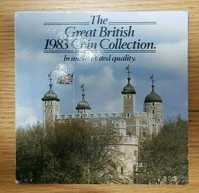 1983 Royal Mint UK Brilliant Uncirculated Coin Collection