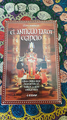 Ancient egyptian tarot, new, sealed, out of print, spanish, Barrett Clive