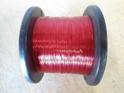 AWG 24 Copper Magnet Wire HPN 155 Red/ Weight (4.6 lbs)