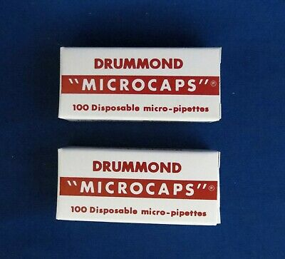 200 Drummond Microcaps Microliter Pipets 5µL Micropipettes