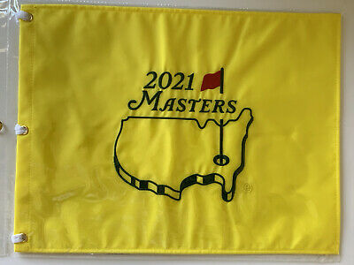 2019 Masters golf flag Tiger Woods augusta national embroidered pin flag new pga