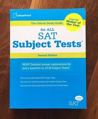THE OFFICIAL STUDY Guide for All SAT Subject Tests by