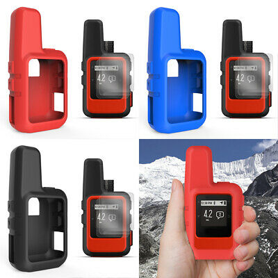 Screen Protector + Silicone Case Skin For Garmin inReach Mini Communicator A3
