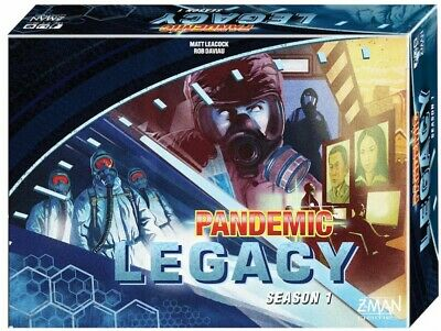 Pandemic: Legacy Season 1 Board Game - Blue by Zman Games  ZMGZM7170