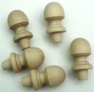 Wood Finial Turning Pack of 50