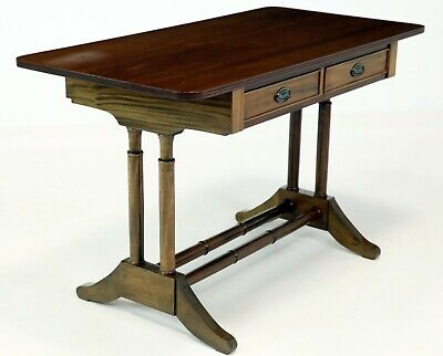 Georgian Style Hall/Sofa Table With 2 Drawers 119cm W X 61cm D FREE UK Delivery