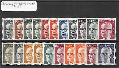 Lot of 109 Germany MH Mint Hinged Stamps Scott Range 237 - 2107 #141233 X R