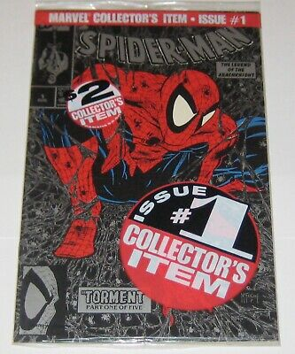 SPIDER-MAN #1 SILVER BAGGED , Todd McFarlane cover