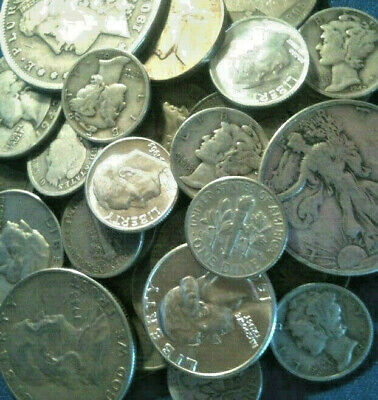 Survival Silver $1.00 Total Face Value Not Junk  *FREE SHIPPING*