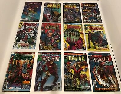 Set Of 29 Marvel Lenticular Homage Variant Covers (October) Wave 1 + Cap 695 Lh