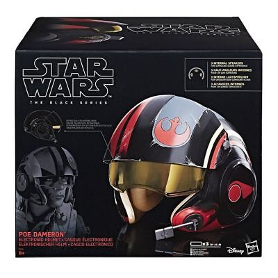 casco poe dameron black series star wars