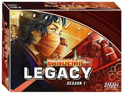 Pandemic: Legacy Season 1 Board Game - Red by Zman Games  ZMGZM7171
