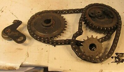"Delta Dc-380 15"" Planer Drive Chain & Sprocket Set With Tensioner"