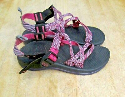 8751f71837a5 CHACO ZX1 GIRLS Ecotread Sandal Strappy Sport Size 3 Pink   Purple ...
