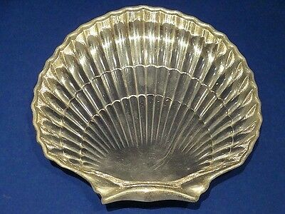 Antique Gorham Sterling Silver Footed Scalloped Shell Bowl 5.95Oz