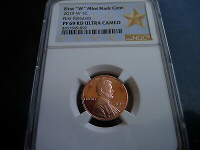 2019 w proof Lincoln cent NGC PF 69 RD Ultra Cameo First releases