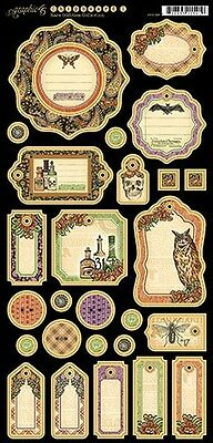 4500812 Graphic 45 Sweet Sentiments Chipboard
