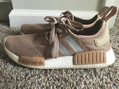 864b7bbc3 Adidas Boost NMD R1 Runner W Nomad Women s Ash Pearl Chalk Pink size 6.5