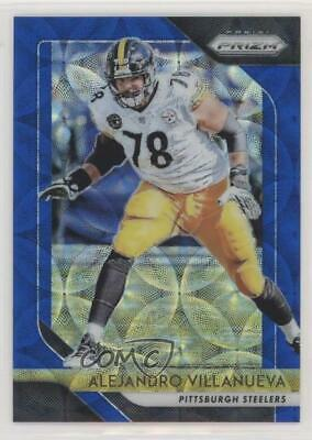 7c1cd6864 2018 Panini Prizm Blue Scope  37 Alejandro Villanueva Pittsburgh Steelers  Card